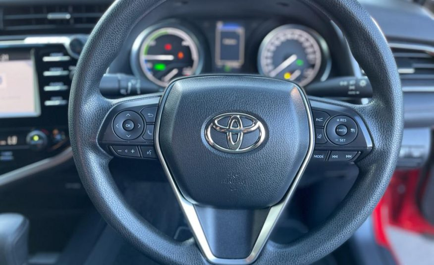 2018 Toyota Camry AXVH71R MY19 Ascent (Hybrid) Sedan, Continuous Variable, 4 Cyl Petrol & Electric 2.5 L