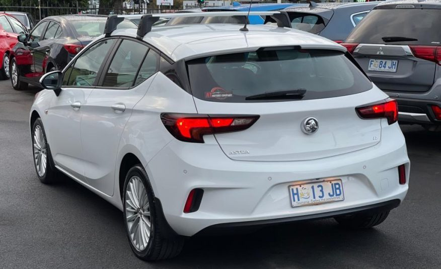 2018 Holden Astra BK MY17.5 R Hatchback, 6 Sp Automatic, 4 Cyl Petrol 1.4 L