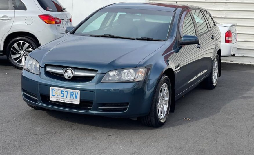 2010 Holden Commodore VE MY10 Omega Sportswagon, 6 Sp Automatic, 6 Cyl Petrol 3.0 L
