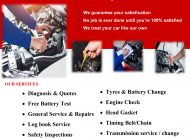 BASIC SERVICE STARTS FROM $99only With Penrite Oil